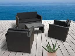 canape de jardin en resine tressee pas cher mobilier jardin pas cher salon de jardin pas cher maisonjoffrois