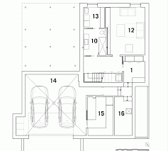 bic floor plan le bic house by naturehumaine combines wood and steel