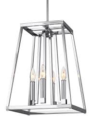 Thomasville Chandeliers F3149 4ch 4 Light Pendant Chrome