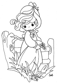 precious moments coloring pages contegri com