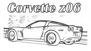 Corvette Z06 Car Coloring Pages Printable Free Online Cars Car Coloring Pages Printable For Free