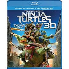 teenage mutant ninja turtles blu ray 3d blu ray dvd digital