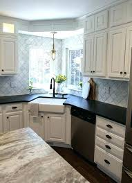 Corner Kitchen Sink Ideas Corner Kitchen Sink Designs Kitchen Designs With Corner Sinks