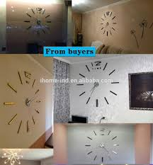 wholesale wall stickers mirror large diy clock wall stickers mirror large diy clock modern art decor