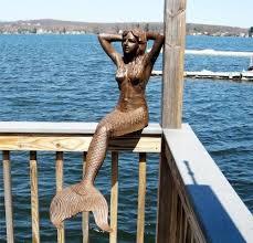 Mermaid Garden Decor 50 Best Garden Garden Sculptures U0026 Statues Images On Pinterest