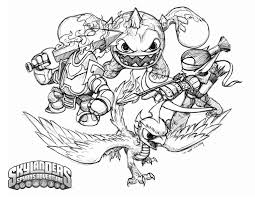 awesome printable skylanders coloring pages in 3224 unknown