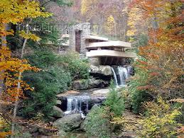 bear run pennsylvania usa fallingwater house designed by
