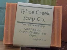 orange spice color goat milk orange spice tybee creek soap co