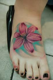 tattoos gallery flower foot tattoos tips and ideas for