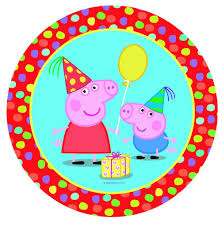 peppa pig birthday clipart free clipart