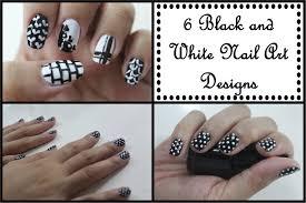 black and white nail art tutorial images nail art designs