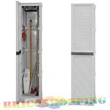 armadietti in pvc armadio resina portascope il piu forte pvc esterno 35x172x39