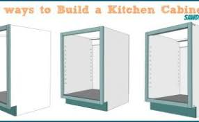 Building Frameless Kitchen Cabinets Kitchen Cabinets Carcass Astonishing On Kitchen With Regard To How