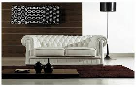 Sofa Casa Leather Divani Casa Transitional Tufted Leather Sofa Set