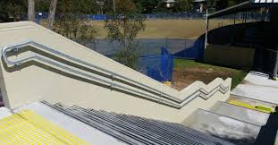 Galvanised Handrail Mobile Welders Brisbane Dipped Galvanised Handrail