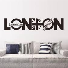 Home Decor Shops London Online Shop London Vinyl Union Jack Art Wall Sticker Home Decor