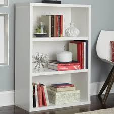 Bookshelf 3 Shelf White Bookcases You U0027ll Love Wayfair