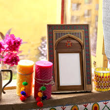 candles pom pom photoframe threadwork votive accessories candles pom pom photoframe threadwork votive accessories home indian home decorindia styletraditional
