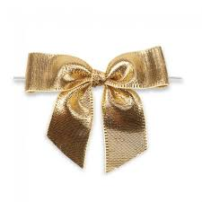 gold metallic ribbon 1 2 gold metallic pre