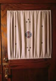 Curtains With Rods On Top And Bottom Door Curtain Often A Rod Pocket Top Bottom To Keep The