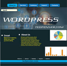 design contest wordpress theme entry 4 by asik01711 for design contest using the divi wordpress