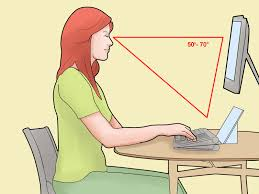 Proper Way To Set A Table by How To Sit At A Computer 11 Steps With Pictures Wikihow