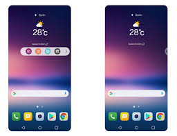 lg android lg reveals lg v30 s new ui secondary display is now a floating