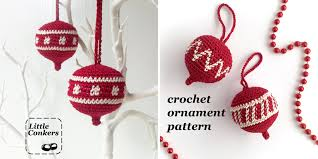 ornament crochet pattern conkers