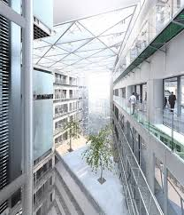 cool office building with indoor courtyard hello 2013 plaza