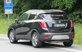 opel mokka interior we spied gm testing facelifted buick encore and opel vauxhall mokka