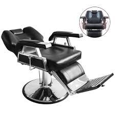 Reclining Salon Chairs Furniture Hair Salon Chairs New Heavy Duty Hydraulic Recline Barber