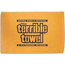 gifts for steelers fans amazon com nfl pittsburgh steelers original terrible towel gold
