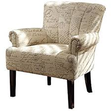 Arm Accent Chair Homelegance Langdale 1212f2s Vintage Print Fabric