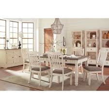 ashley dining room sets signature design by ashley bolanburg two tone dining room table with