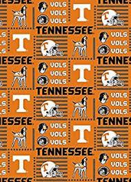 Tennessee Vols Rug Amazon Com College University Of Tennessee Volunteers Print
