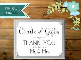 sign a wedding card wedding card box sign cards and gifts sign gift table