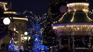 main street u s a christmas atmosphere 2012 disneyland paris