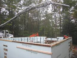 Icf Cabin Insulated Concrete Form Icf Residence Andrews Construction