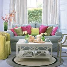 Model Home Ideas Decorating by Summer Living Room Ideas Outstanding Colorful Living Room With
