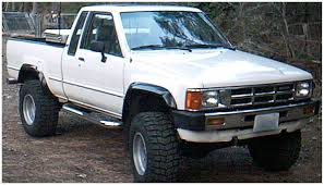 1984 Toyota Pickup - toyota extend a fender flare set of 4 oe matte black 31902