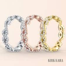 kirk kara wedding band kirk kara engagement ring from the angelique collection