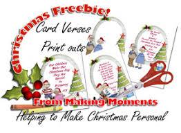 making moments christmas printable
