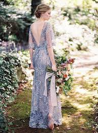 Blue Wedding Dress 20 Gorgeous Wedding Dresses With Flutter Sleeves Deer Pearl Flowers