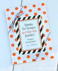 spooktacular teacher tags teacher gift and