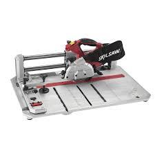 Laminate Flooring Tools Shop Skil 4 3 8 In 7 Amp Bevel Sliding Miter Saw At Lowes Com