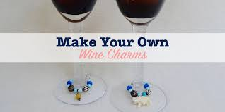 wine glass party favor make your own wine charms for a great party favor single girl s diy