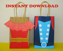 princess candy bags princess favor bags party bags birthday