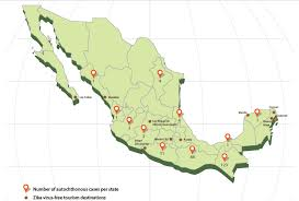 San Miguel De Allende Mexico Map by What You Should Know About The Zika Virus In Mexico