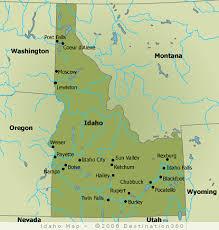 map of idaho cities idaho map idaho state map