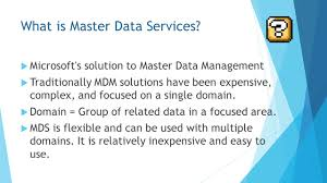 mastering master data services presented by jeff prom bi data